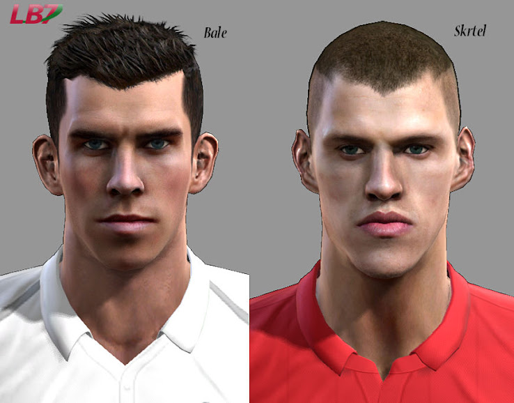 Bale + Skrtel Faces by Leirbag7