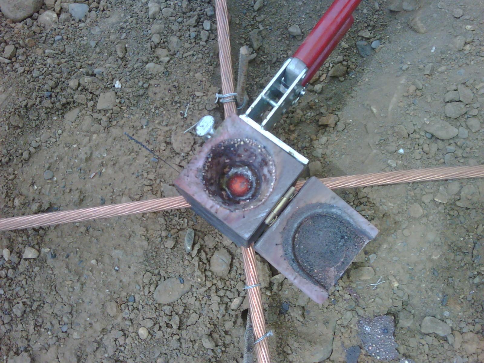 Puesta a tierra construcci n de la puesta a tierra paso for Construccion de piletas paso a paso