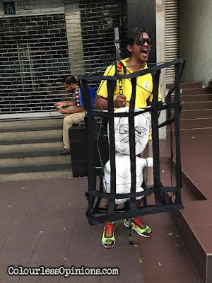 bersih 4 najib in bars jail