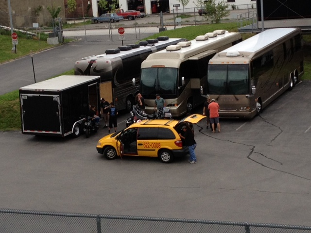 Zz Top Tour Bus