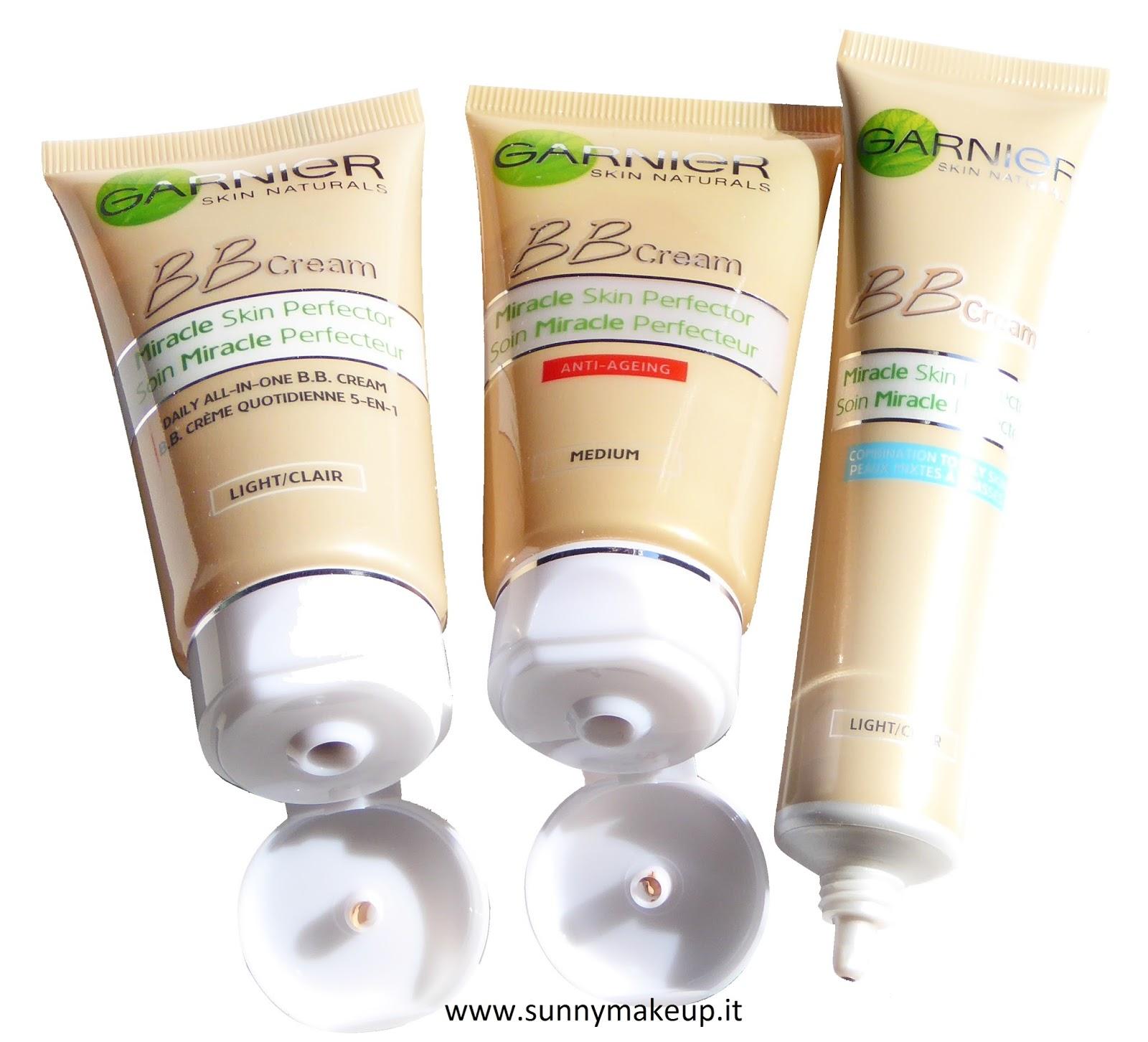 Garnier - BB Cream per  pelli normali miste/grasse e antirughe