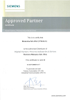 SIEMENS APPROVED PARTNER