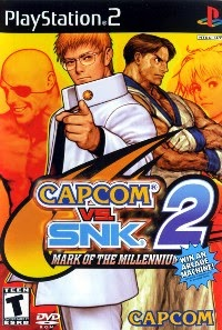 Capcom vs. SNK 2: Mark of the Millennium 2001 – PS2
