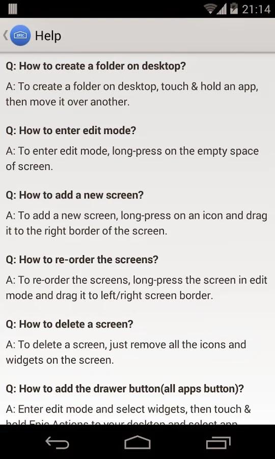 Epic Launcher Prime (Lollipop) v1.2.9