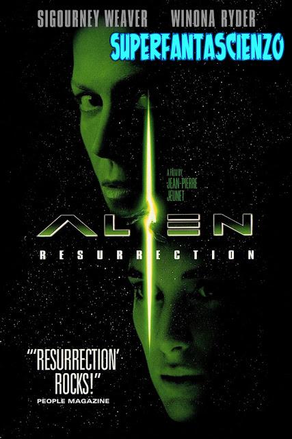 Alien la clonazione Resurrection recensione