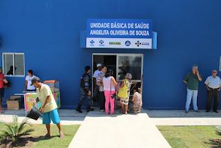 Unidade Básica de Saúde é inaugurada em Delmiro Gouveia