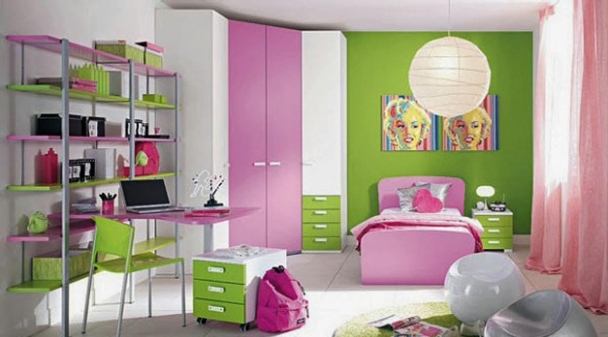 kamar anak perempuan sd