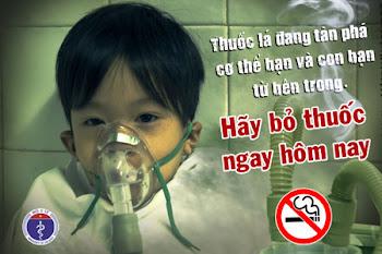 Vì một môi trường không thuốc lá