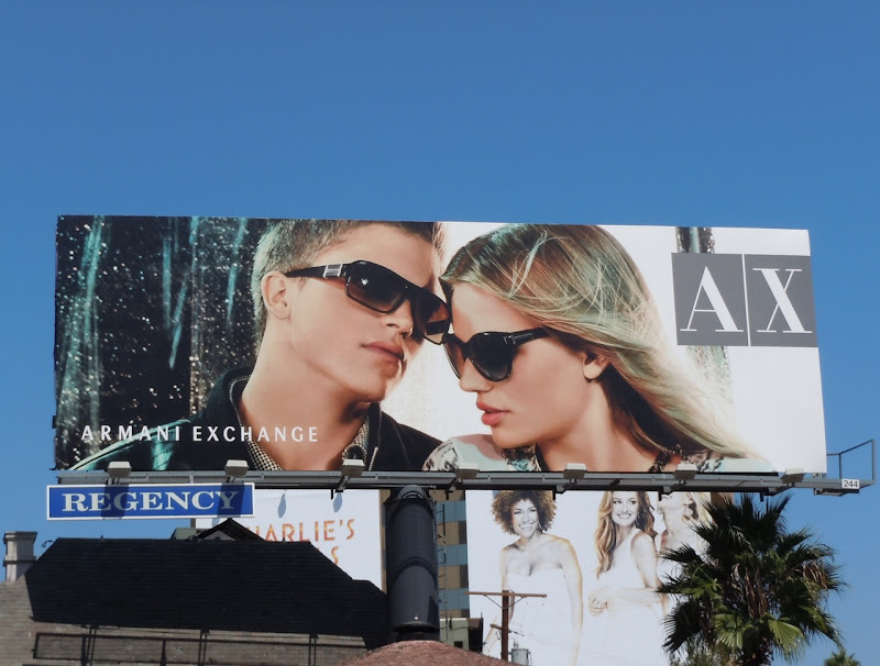 AX sunglasses 2011 billboard