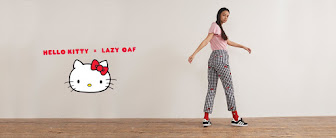 HELLO KITTY x LAZY OAF