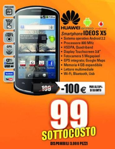 Ideos X5 prezzo sottocosto a 99 euro