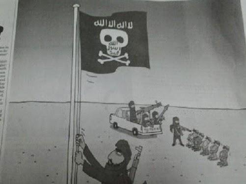 Karikatur The Jakarta Post hina Islam