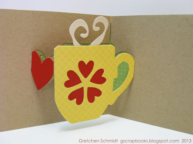 Sizzix Die Cutting Tutorial: A Cup of Thanks by Gretchen Schmidt