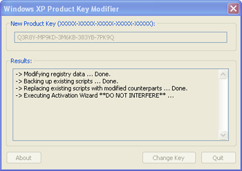 Full version software juel news for Window xp product key