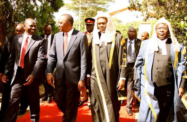 Deputy President William Ruto, Speaker of the National Assembly Hon