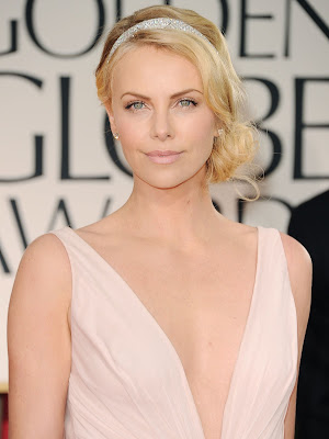 Charlize+Theron 2012 Oscar Hair Predictions From The Pros