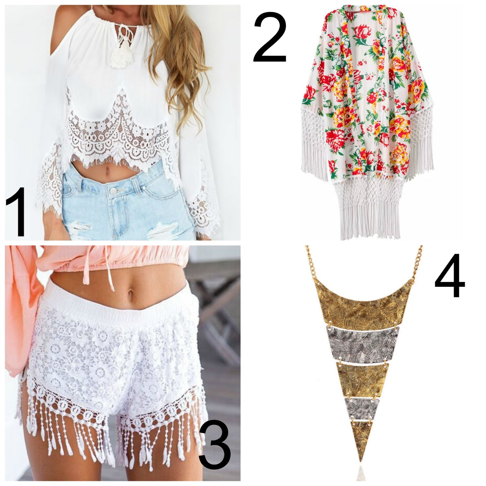 summer festival boho chic outfit inspiration