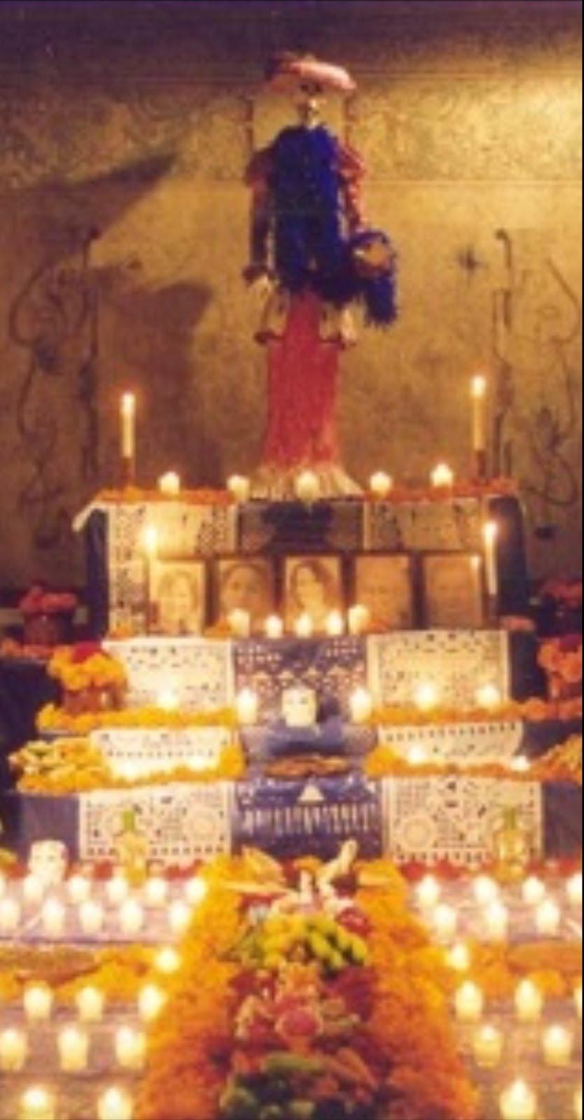 Día de fieles difuntos. Celebración de raíces prehispánicas