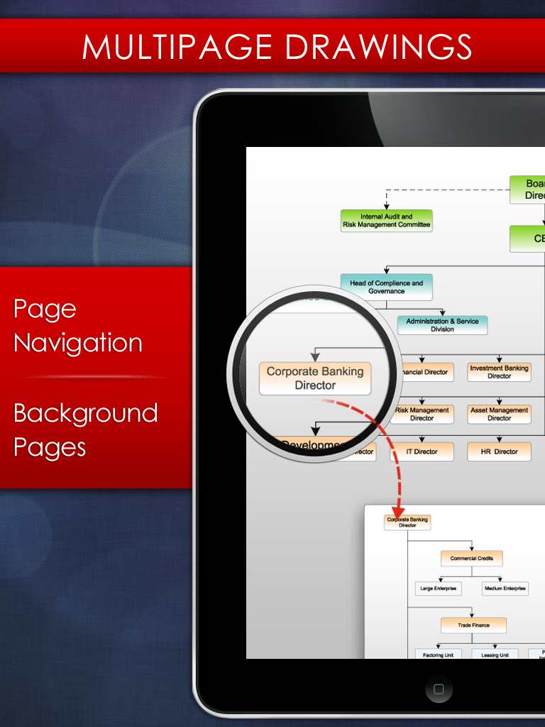 vsd viewer navigate pages in visio - Visio For Mac 2011