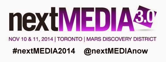 #nextmedia2014 Nov 10-11