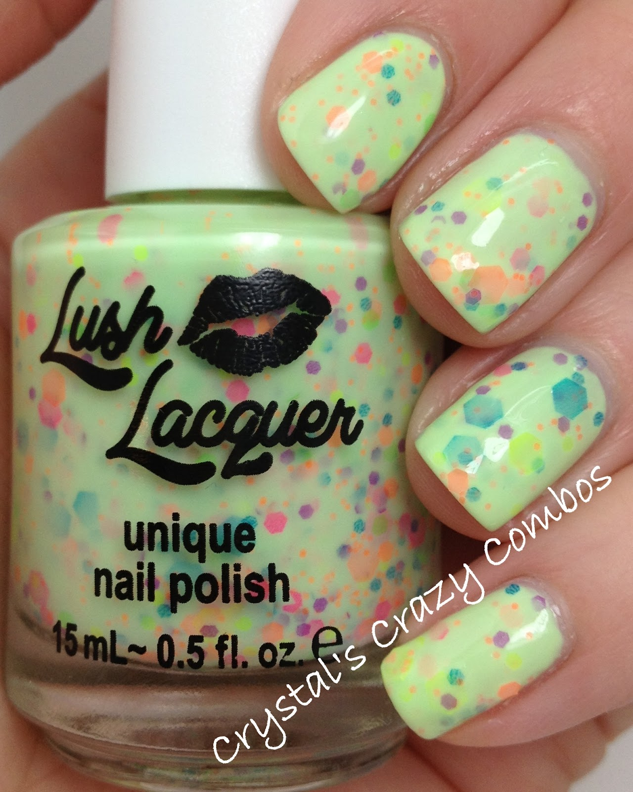 Crystal\'s Crazy Combos: Lush Lacquer - Neon Collection!
