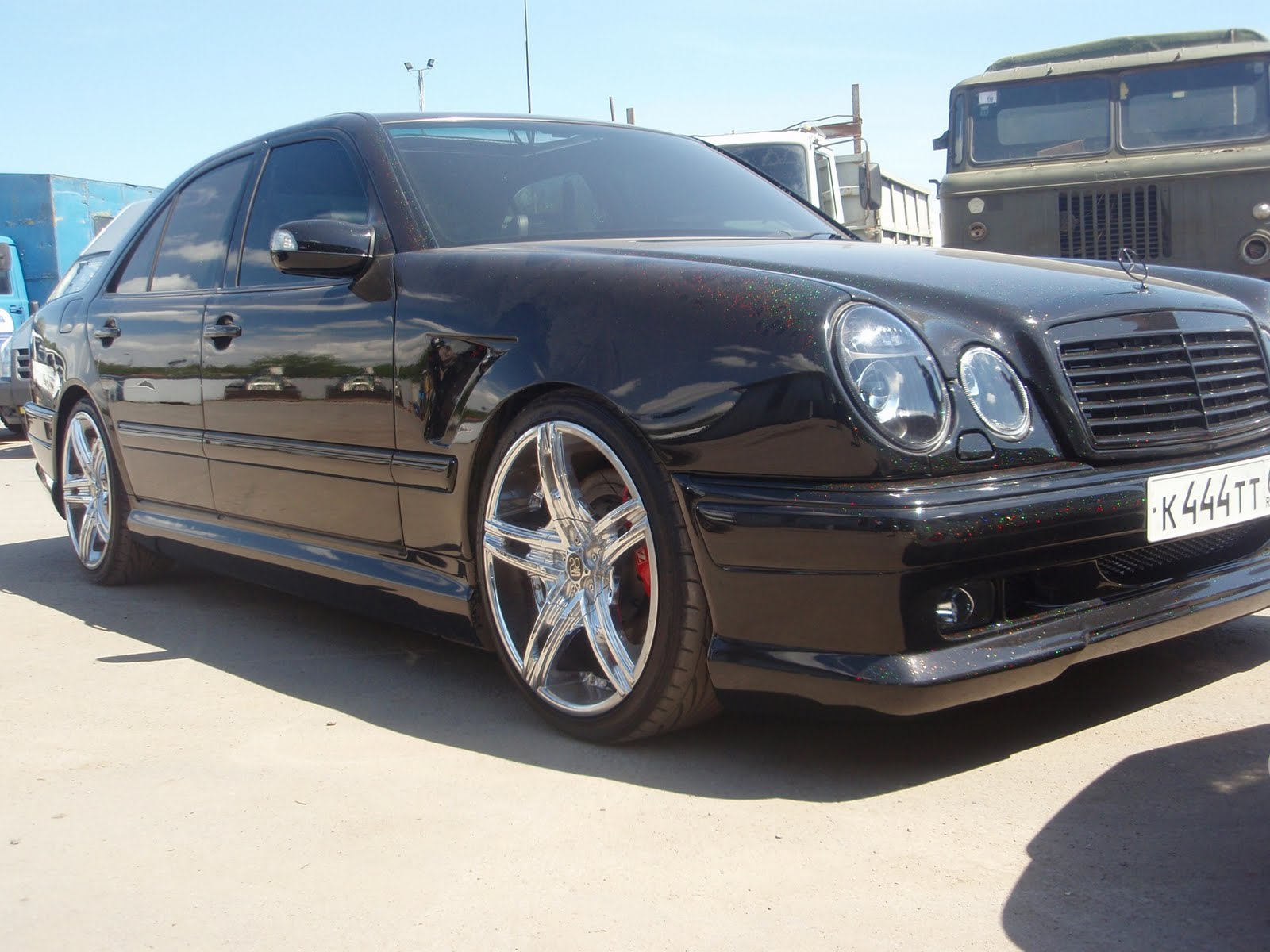 Mercedes benz w210 wald body kit benztuning for Mercedes benz 210