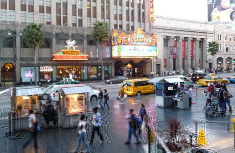 Paseo de la Fama, Los Angeles