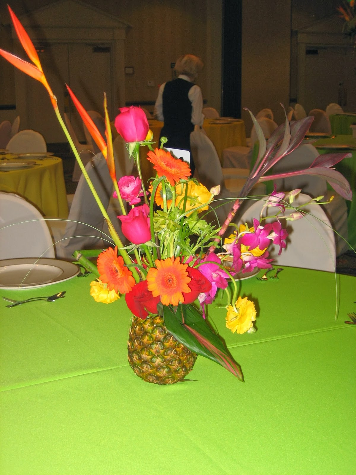 MyTotalNetcom Centerpieces With Pineapple Part 3