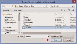 alarm jika Baterai Laptop Lemah.