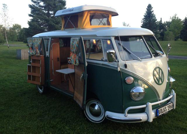 1966 volkswagen bus so42 camper westfalia deluxe vw bus. Black Bedroom Furniture Sets. Home Design Ideas