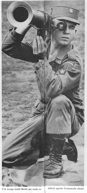 Soldier with a bazooka