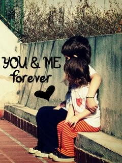 You and Me Forever Kids 240x320 Mobile Wallpaper
