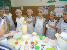 Kairo colocando a margarina