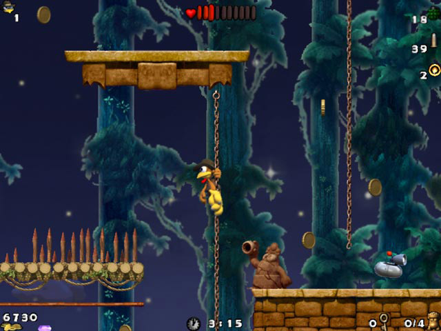Crazy Chicken Atlantis PC Version Game Play
