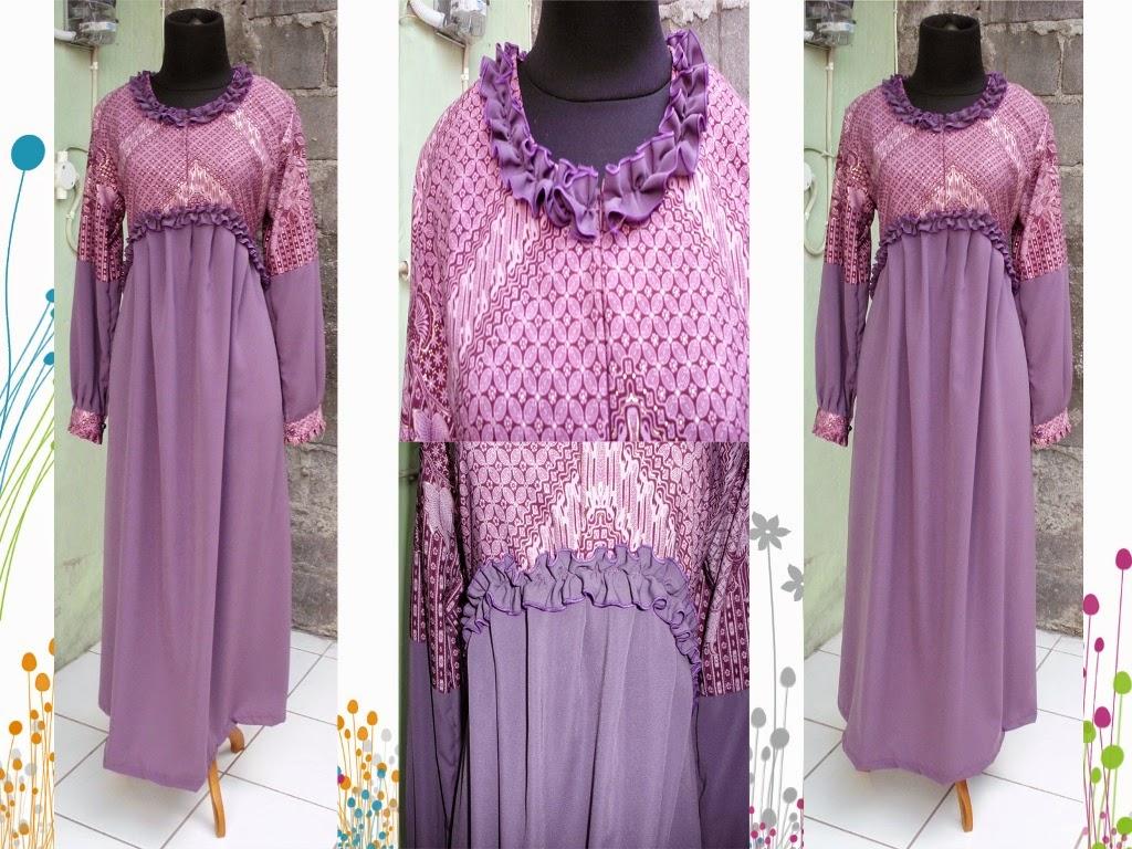 Gaya Busana Batik Trend Baru Masa Kini Model Baju Wanita
