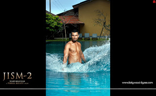 Randeep Hooda in swimming pool Hot HD Wallpaper Jism 2