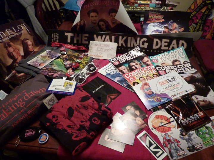 The Nerdy Girlie - SDCC: Swag