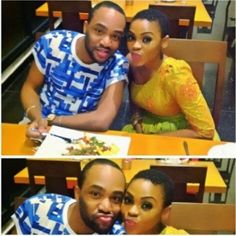 Chidinma Ekile in Hot romance with Dayo Dane