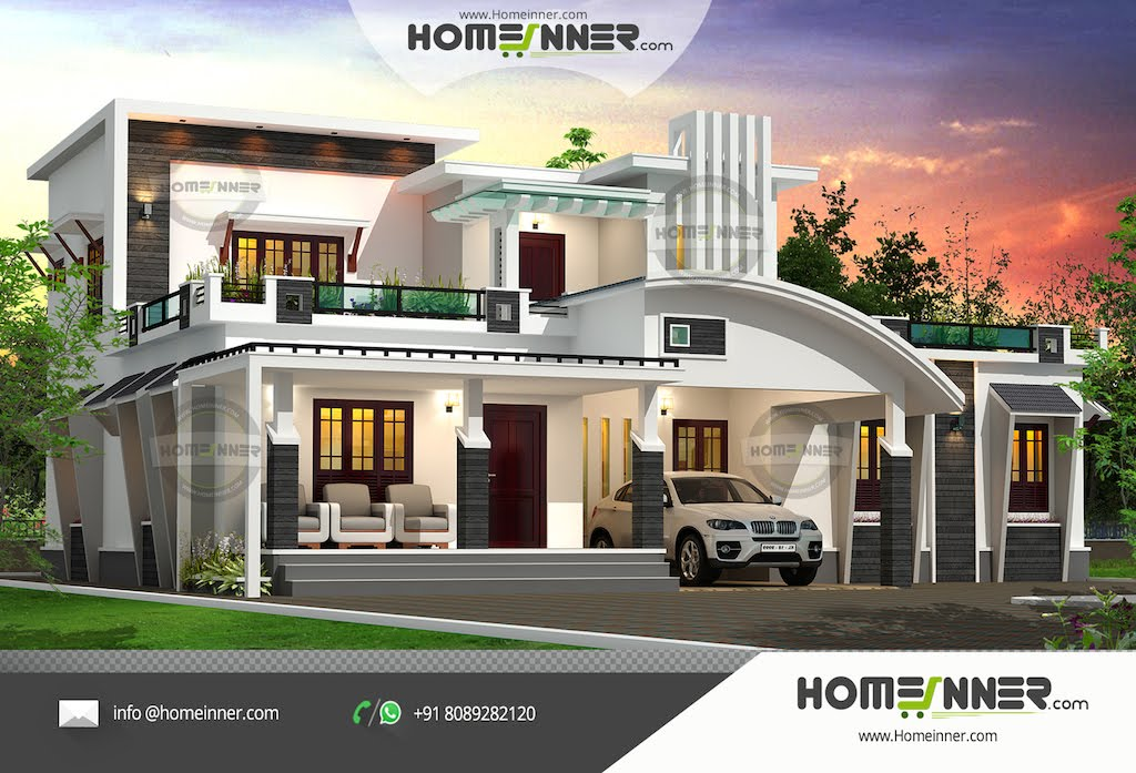 Luxury indian homes designs home design and style for Villa design plan india