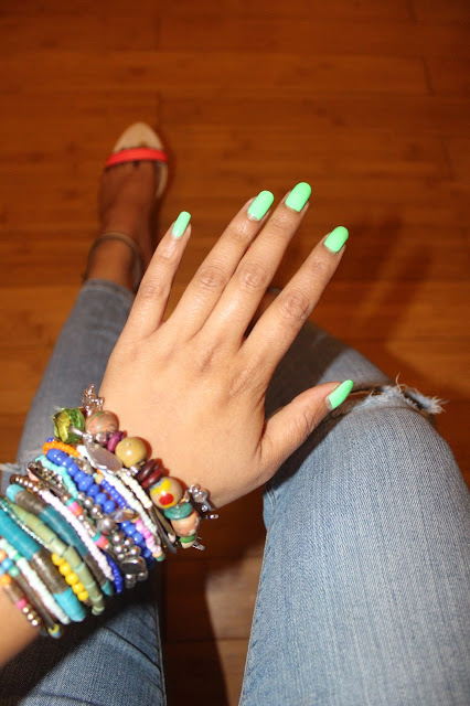 American Apparel Parakeet nail polish