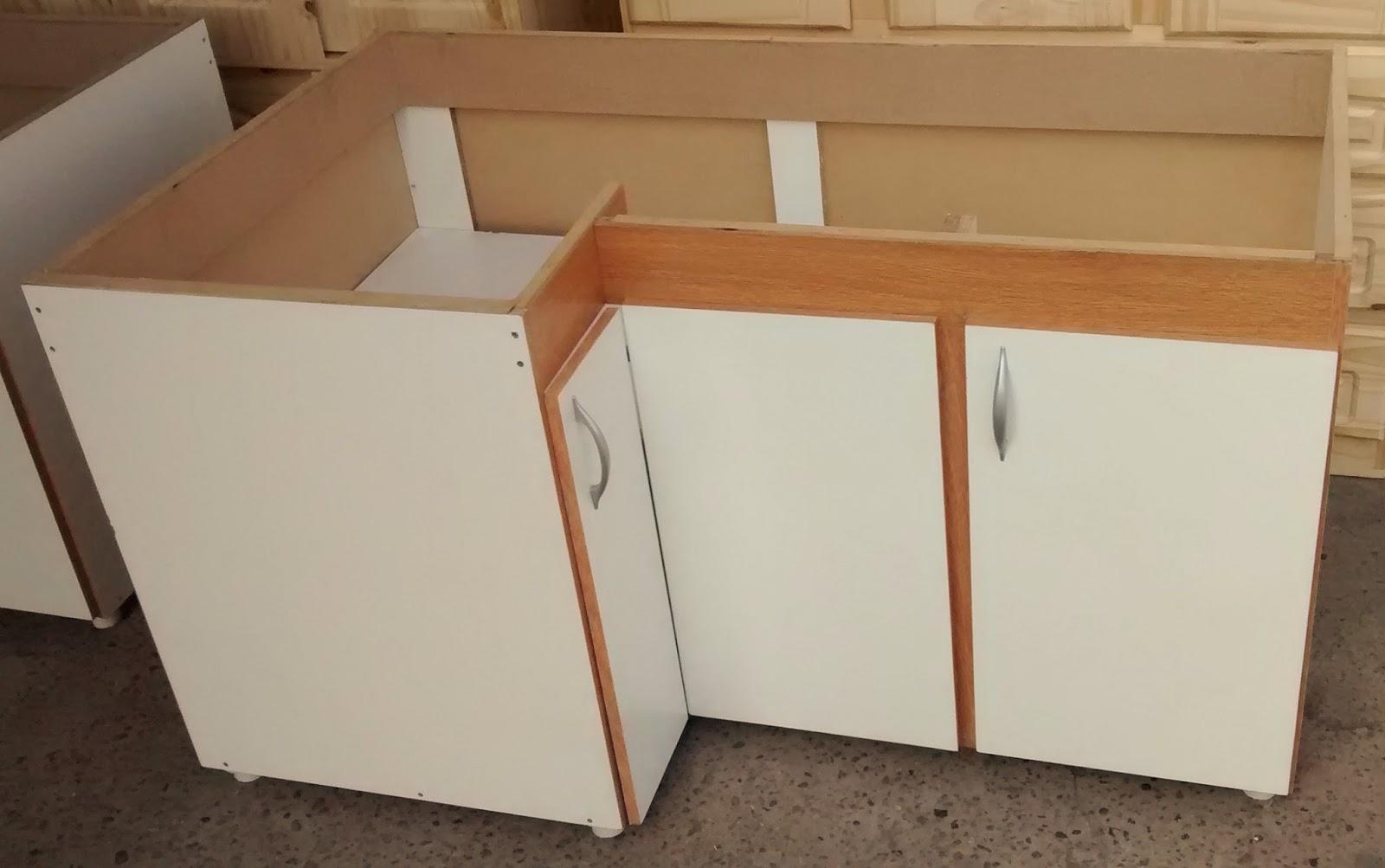 Pichon muebles bajo mesada y alacena melamina blanca for Severino muebles cocina alacena melamina blanca