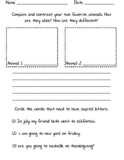 Worksheets Morning Work Worksheets swimming into second morning work freebie click here to download the pages for free in google docs