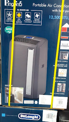 DeLonghi Pinguino AN125HPEKC Portable Air Conditioner cools down your home