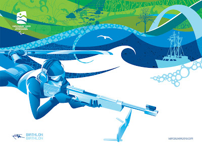Free Vancouver 2010 Olympic Winter Games PowerPoint Background 29