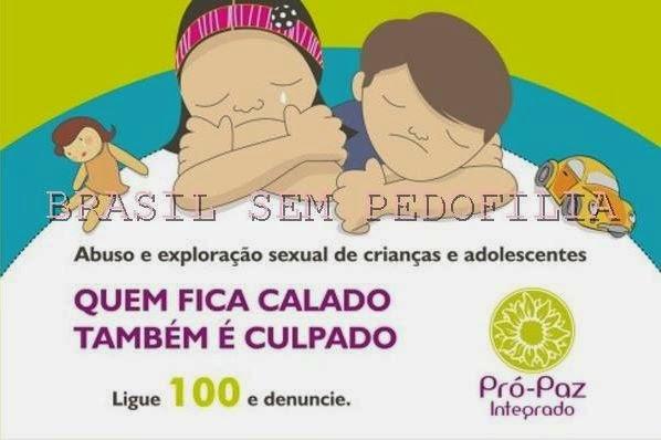 TODOS CONTRA A PEDOFILIA!