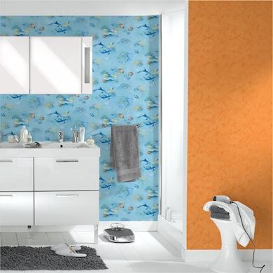 Papier peint Papier peint, frise et fibre de verre Leroy Merlin - Papier Peint Vinyle Pour Salle De Bain