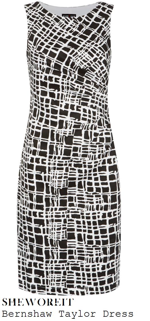 jamelia-black-and-white-monochrome-geometric-print-dress-loose-women