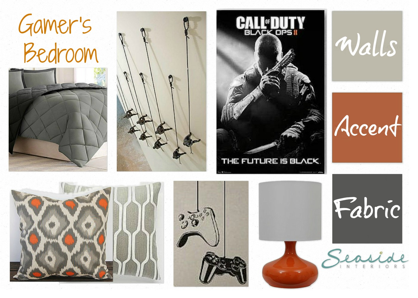 video game room decorating ideas. boys room decorations diy