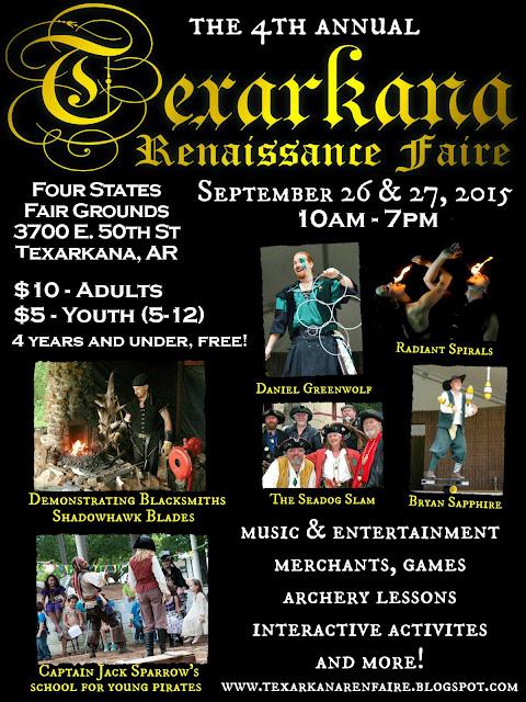 2015 Texarkana Renaissance Faire