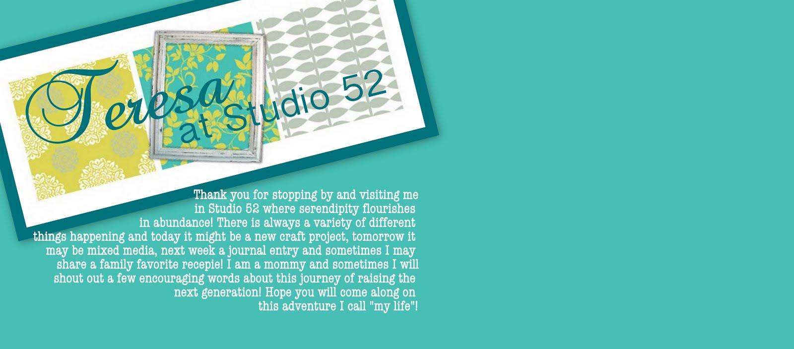 Teresa at Studio 52